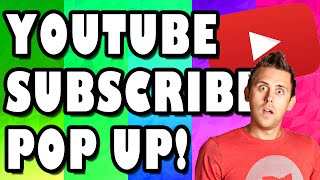 Animated Subscribe Buttons + Download Link