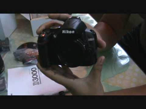 nikon d3000 body. Unboxing My New Nikon D3000