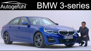 All-new BMW 3-Series 2019 REVIEW G20 Exterior Interior 3 Series 3er - Autogefühl