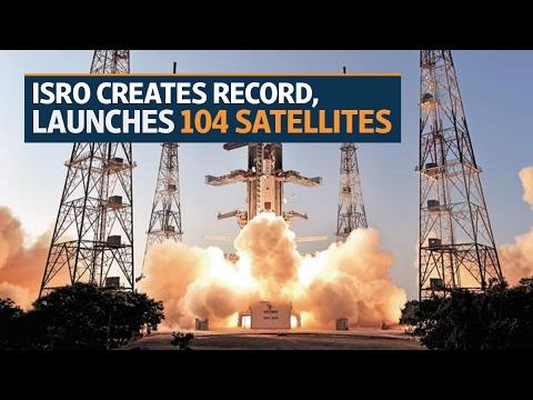 Isro creates record, launches 104 satellites