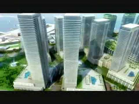 Dubai Maritime City overview video