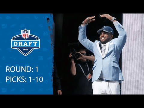 Picks 1 10 Recap 2016 Nfl Draft
