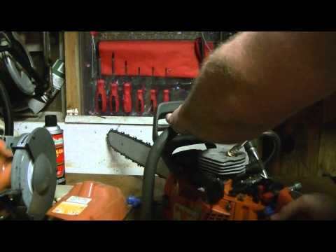 Compression Test on Husqvarna 350 chainsaw