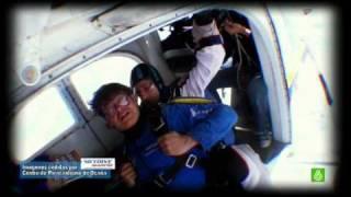 SLQH Patri & Miki se tiran en paracaídas