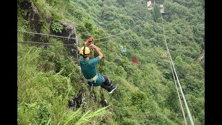 Zipline Adventure at Sohra, Meghalaya