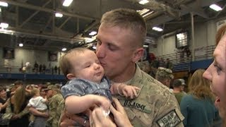 Soldiers' Emotional Return Home  11/28/13