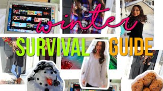Winter Survival Guide: What To Do On A Snow Day & My Favorite Winter Outfits!!