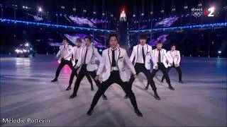 "EXO ""Growl"" & ""Power"" at  Closing Ceremony Pyeongchang 2018"