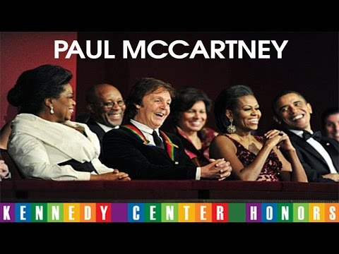 PAUL McCARTNEY AT KENNEDY CENTER HONORS (Complete)