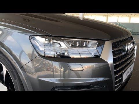 2018 Audi Q7 S-line quattro 3.0 TDI V6 quick walkaround in 4K