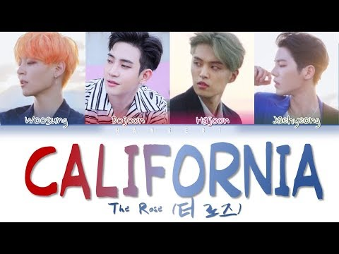 Download  The Rose 더 로즈 – 'California' Color Coded s Eng/가사 Gratis, download lagu terbaru