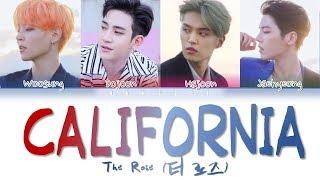 The Rose (더 로즈) – 'California' (Color Coded Lyrics Eng/가사)