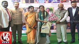 TRA Felicitate 62nd National Shooting Championship Medal Winning Players | Hyderabad