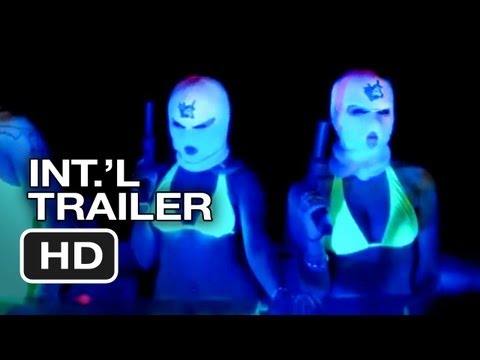 Spring Breakers Uncensored International Trailer 2 (2013) - James Franco Movie Hd video