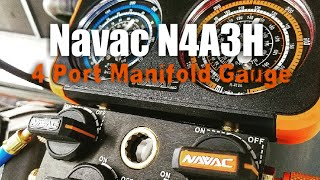 HVAC - Navac N4A3H Manifold Gauge Review