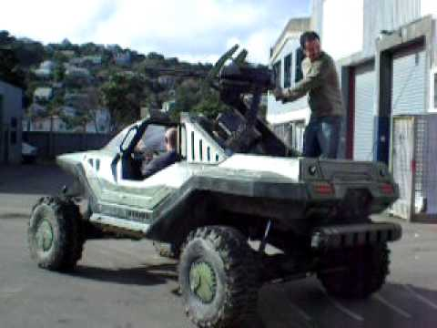 Halo is Love Halo is Life a Real-life Halo 4 Warthog