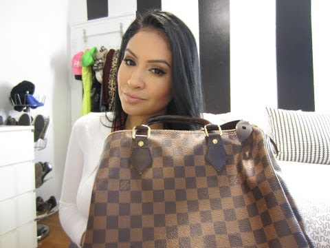 What's in my bag - Louis Vuitton Speedy