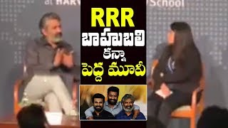 Director Rajamouli Open up about RRR Movie | Jr NTR | Ram Charan | Filmylooks