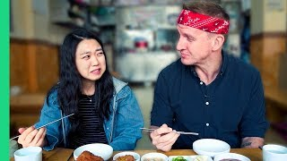 Exotic KOREAN FOOD Tour! SUPER STRANGE food found only in Seoul, South Korea!