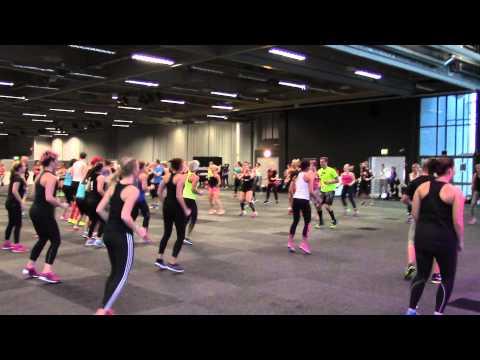 Fitnessfestivalen 2014 Les Mills Bodyattack Klipp 1 video