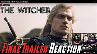 The Witcher Final Trailer - Angry Reaction!