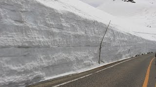 Japan Central Trip (2016 April) - Kurobe Alpine Route / Snow Wall 雪の大谷