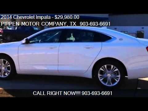 2014 Chevrolet Impala LT for sale in Carthage, TX 75633 at P