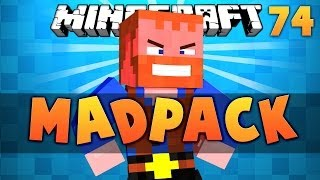 Minecraft: MADPACK Extreme Survival Series Ep.74