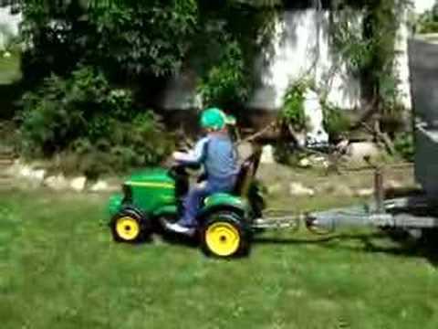 Tracteur électrique john deere