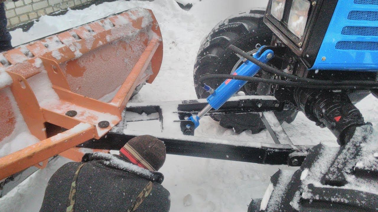 Отвал для снега своими руками для трактора