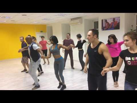 """Репетиция номера к концерту Алексея Чумакова """"Песня о любви"""" salsa-версия"""