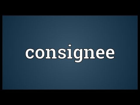 Header of consignee