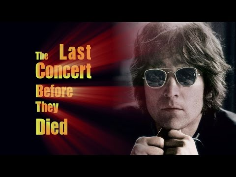The Last Concert Before They Died - Rock Legends