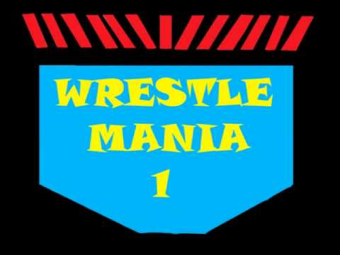 Wrestlemania 1 Theme  Hangman-rev Theory video