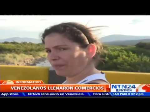 Más de 35 mil venezolanos cruzaron la frontera hacia Colombia para comprar alimentos y medicinas