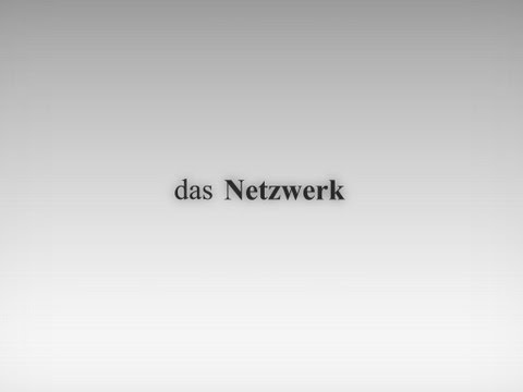 Das Netzwerk | The Network (Studenten-Workshop 10 Jahre 9/11 BPB Berlin)