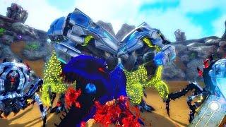 ARK Survival Evolvled - BIONIC DODOREX, BROODMOTHER, NEMESIS REX & SAIYAN MOD ( Modded Gameplay )