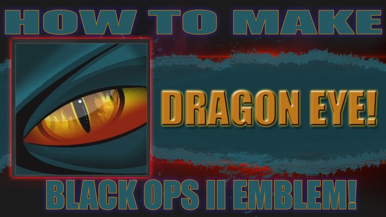 Make Dragon Eye Emblem