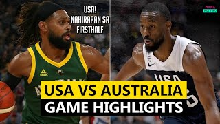 USA VS AUSTRALIA FULL GAME HIGHLIGHTS | AUGUST 22, 2019
