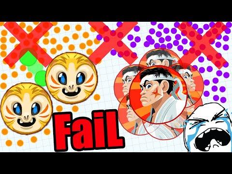BEST LAST MAN STANDING FAIL EVER?! WTF WHY?!// Agar.io LAST TEAM STANDING FAIL! WOW #1