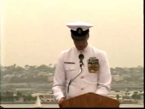 John W. Quinn's Navy Retirement Speech