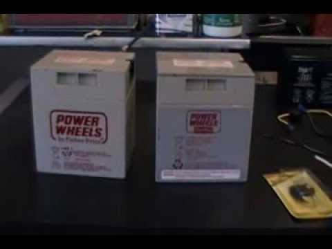 How To Modify A 12 Volt Power Wheels Battery The Correct
