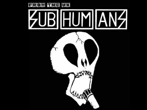 Subhumans - Mickey Mouse is Dead