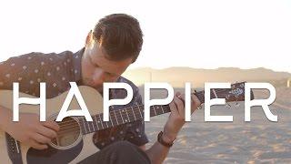 Download Lagu Ed Sheeran - Happier ÷ Fingerstyle Guitar Cover (FREE TAB) - Dax Andreas Gratis STAFABAND
