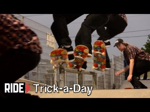 How-To Skateboarding: Frontside 5-0 Grind With Fritz Mead