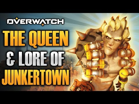 OVERWATCH: Junkertown Map Lore - THE QUEEN & Home of the Junkers!