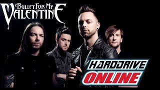 Bullet For My Valentine interview with hardDriveRadio