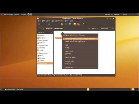 Run Windows Applications on Ubuntu using Wine