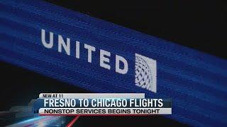 Fresno to Chicago flights begin