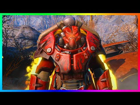 Fallout 4 Ultimate X-01 Power Armor Location Guide! - BEST & RAREST Armor In Fallout 4! (FO4)